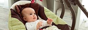 Кресла-качалки, шезлонги детские