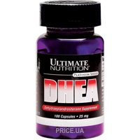 Фото Ultimate Nutrition DHEA 25 mg 100 caps