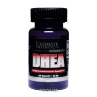 Фото Ultimate Nutrition DHEA 50 mg 100 caps