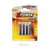 Фото ANSMANN AAA bat Alkaline 4шт Xpower (5015653)