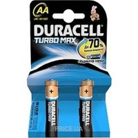 Фото Duracell AA bat Alkaline 2шт Turbo Max 81417100/81367857