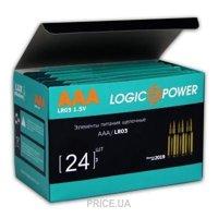 Фото LogicPower AAA bat Alkaline 2шт (3159)