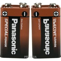 Фото Panasonic Krona bat Carbon-Zinc 1шт Special (6F22REL/1BP)