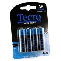 Фото Tecro AA bat Alkaline 4шт Extra Energy (LR6-4B(EE))