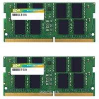 Фото Silicon Power 8GB (2x4GB) SO-DIMM DDR4 2133MHz (SP008GBSFU213N22)