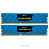 Фото Corsair 8GB (2x4GB) DDR3 1600 MHz (CML8GX3M2A1600C9B)