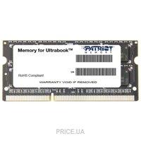 Фото Patriot 8GB SO-DIMM DDR3L 1600MHz (PSD38G1600L2S)