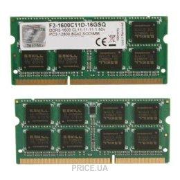 G.skill  F3-1600C11D-16GSQ
