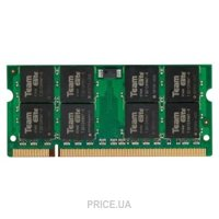 Фото TEAM 2GB SO-DIMM DDR2 800MHz (TED22G800C6-S01)