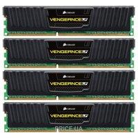 Фото Corsair 16GB (4x4GB) DDR3 1600 MHz Vengeance Low Profile (CML16GX3M4A1600C9)