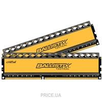 Фото Crucial 16GB (2x8GB) DDR3 1600MHz BallistiX Tactical (BLT2CP8G3D1608DT1TX0CEU)