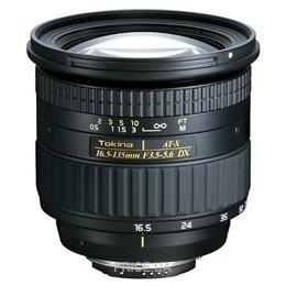 Tokina AT-X 16.5-135mm f/3.5-5.6 DX Nikon F