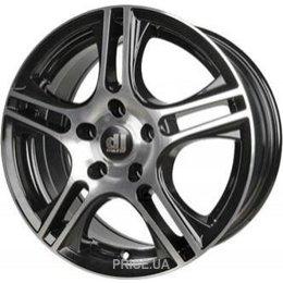 DJ Wheels 424 (R14 W6.0 PCD4x108 ET35 DIA67.1)