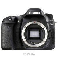 Сравнить цены на Canon EOS 80D Body