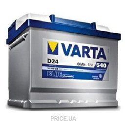 Varta 6СТ-60 BLUE dynamic (D48)