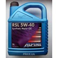 Фото Alpine RSL 5W-40 4л
