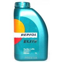 Фото Repsol Elite Turbo Life 50601 0w-30 1л