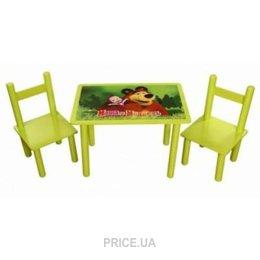 Фото Финекс Плюс Набор стол и 2 стульчика