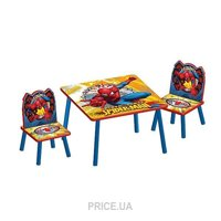 Фото Delta Children Набор детской мебели Спайдермен (TT89430SM)