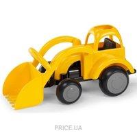 Фото Viking Toys Трактор черно-желтый 25 см (31215)