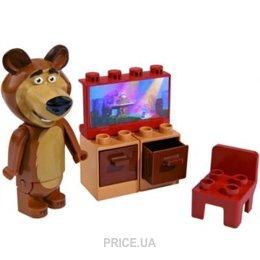 Фото BIG Маша и Медведь 57090 Мишка и телевизор
