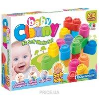 Фото Clementoni Baby Clemmy 14707 24 мягких блока