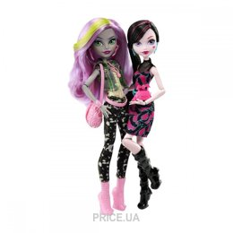 Фото Mattel Monster High Набор кукол Супер-соперницы (DNY33)