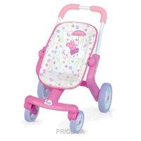 Фото SMOBY Прогулочная коляска для куклы Свинка Пеппа (251206)
