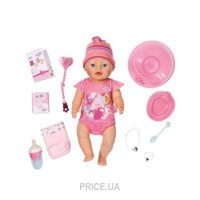 Фото Zapf Creation Baby Born Очаровательная Малышка с чипом (822005)