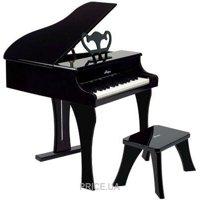 Фото Hape Черное фортепиано со стульчиком (E0320)