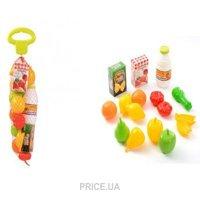Фото Ecoiffier Овощи и фрукты в сетке (951)
