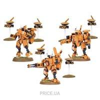 Фото Games Workshop Игровая миниатюра TAU XV8 CRISIS BATTLESUIT TEAM BOX Warhammer, (99120113026)