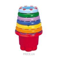 Фото Tolo Toys Разноцветная пирамидка (89650)