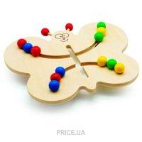 Фото Мир деревянных игрушек Лабиринт Бабочка (Д370)