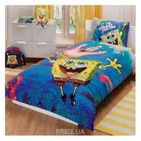 Фото TAC Комплект постельного белья Sponge Bob Underwater
