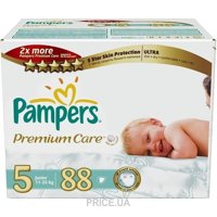 Фото Pampers Premium Care Junior 5 (88 шт.)