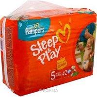 Фото Pampers Sleep&Play Junior 5 (42 шт.)