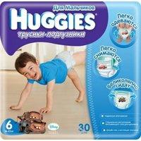 Фото Huggies Трусики для мальчиков 6 (30 шт.)