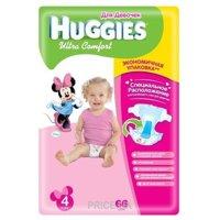 Фото Huggies Ultra Comfort для девочек 4 (66 шт.)