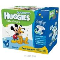 Фото Huggies Ultra Comfort для мальчиков 4 (126 шт.)