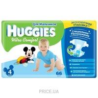 Фото Huggies Ultra Comfort для мальчиков 4 (66 шт.)