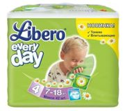Фото Libero Everyday 4 7-18 кг (42 шт.)