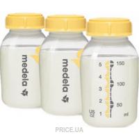 Фото Medela Бутылочки для сбора и хранения молока Breastmilk bottles 150 мл, 3 шт. (008.0073)
