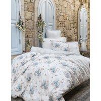 Фото Karaca Home ELENA синий двуспальный Евро