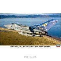 "Фото Hasegawa Боевой реактивный самолет Tornado GR4 ""№ 14 Squadron 90th anniversary"" (HA00930)"