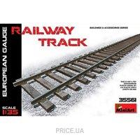 Фото MiniArt Железнодорожные рельсы, европейская колея (MA35561)