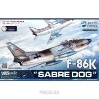 "Фото Kitty Hawk Истребитель F-86K ""Sabre Dog"" (KH32008)"