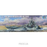 Фото Trumpeter Корабль USS West Virginia BB-48 1945 (TR05772)