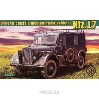 Фото ACE Kfz.17 - uniform chassis medium radio vehicle (72260)
