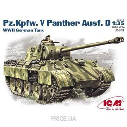 Фото ICM Pz.Kpfw. V Panther Ausf.D, герм-ий танк ІІ Мировой войны (35361)